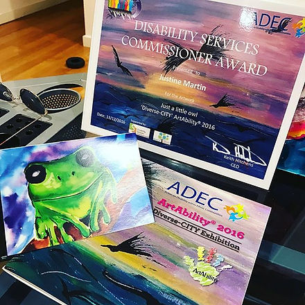 #award #ADEC #geelongcreatives #geelongart #geelongartist #geelong #artistsoninstagram #proud #paint