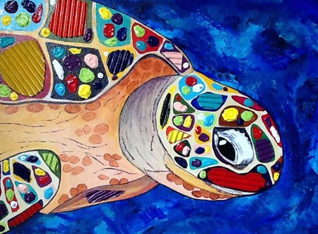 Mosaic Turtle SOLD