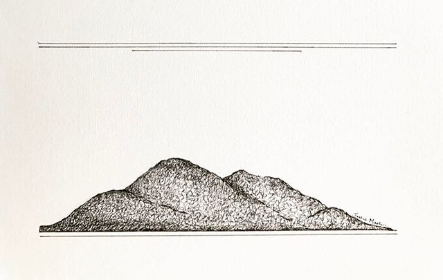 A little mountain range