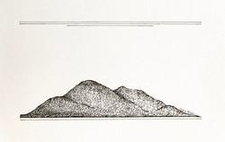 A little mountain range