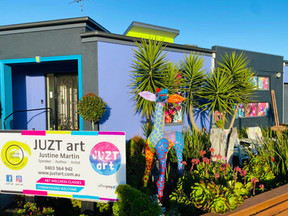 the home of JUZT art
