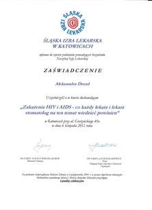 Zakażenia_Hiv_i_Aids_dr_Aleksandra_Dro