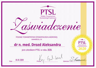 PTSL 2020 - dr n. med. Drozd Aleksandra.