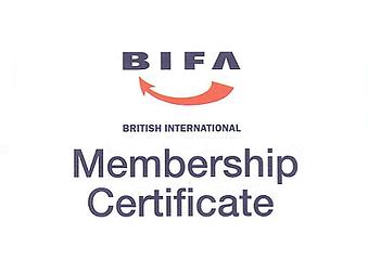 BIFA Membership Certificate