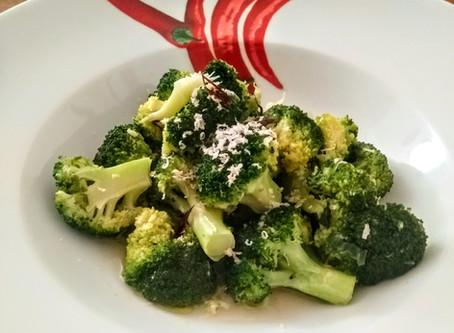 Broccolo all'acquapazza piccante
