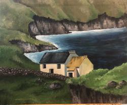 Ireland coast sole house painting