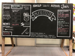 You can create chalkboard art too!