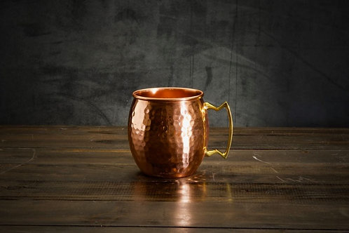 Moscow Mule, Hammered Copper Cup