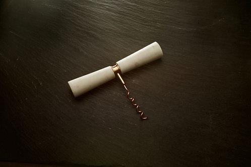 Marble& Copper Corkscrew