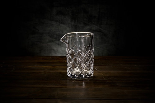 Elegant Cocktail Mixing Glass