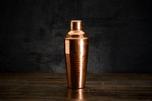Copper Cocktail Shaker, Hammered