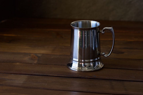 Stainless Steel Beer Tankard / Stein