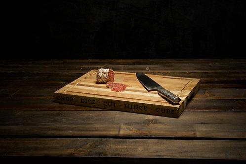 Rustic Wooden Chopping Board