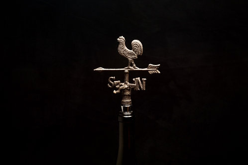 Rustic Weather Vane Bottle Stopper