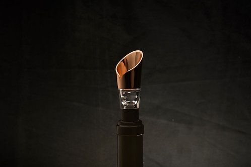 Copper Wine Aerating Pourer
