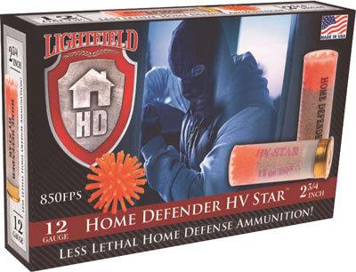 Lightfield 12ga Less then Lethal Home Defender HV Star