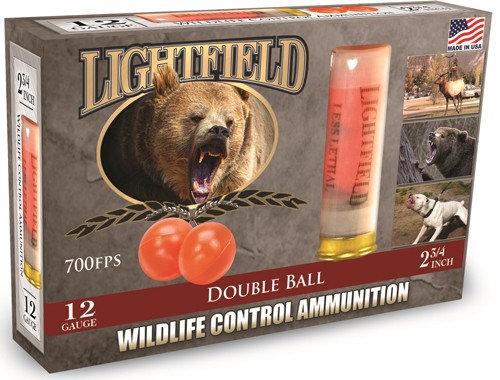 Lightfield 12ga Wildlife Control Double Rubber Ball