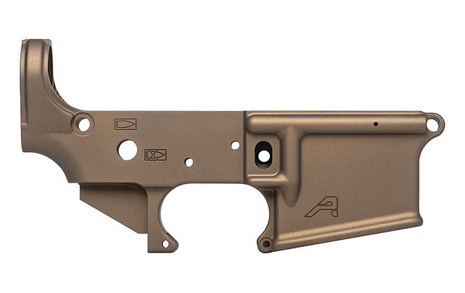 Aero Precision Lower Burnt Bronze Cerakote