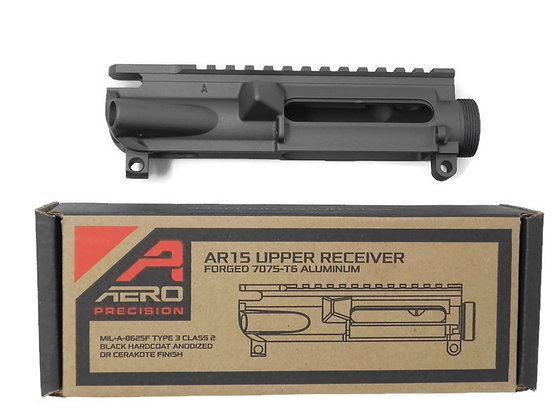 Aero Precision AR15 Stripped Upper Tungsten  Cerakote