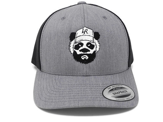 Trucker Retro Heather Grey Snapback