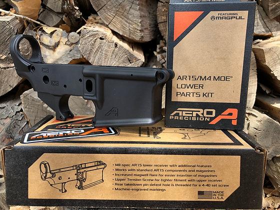Aero Precision AR15 Gen2 Lower Receiver and Magpul LPK combo