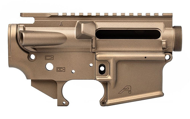 Aero Precision Receiver Set Burnt Bronze Cerakote
