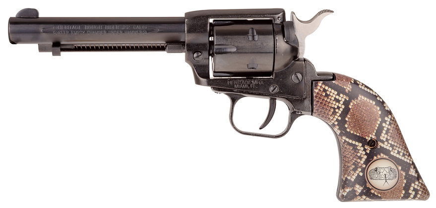 Heritage 22LR With Snake Grips