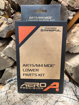 Aero Precision Magpul MOE SL Lower Parts kit in black