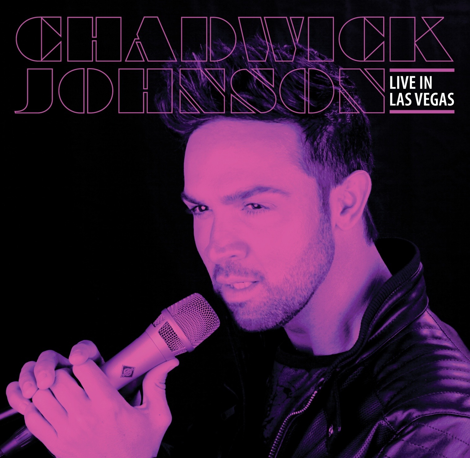 ChadwickJohnson_promo Live in Vegas CD cover (1)
