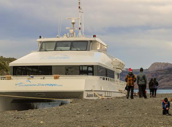 Catamaran Nuevo desde Estancia Perales 3
