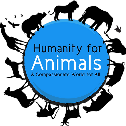 Humanity for Animals White TShirt