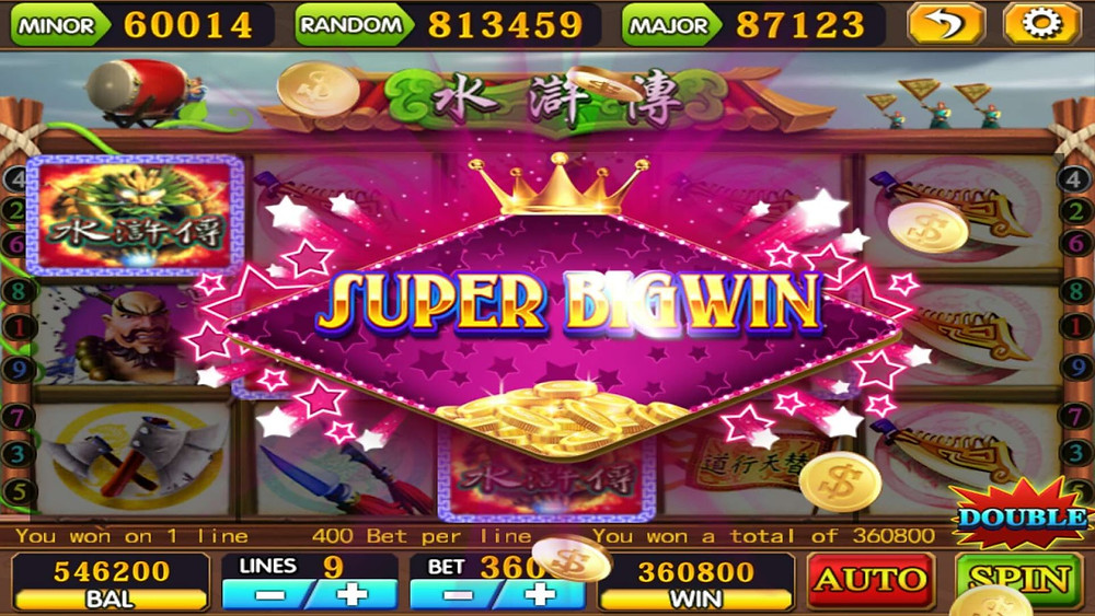 Mega888 ShuiHu Super Big Win