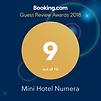 Мини-отель Нумера признан одним из лучших отелей на Букинге!