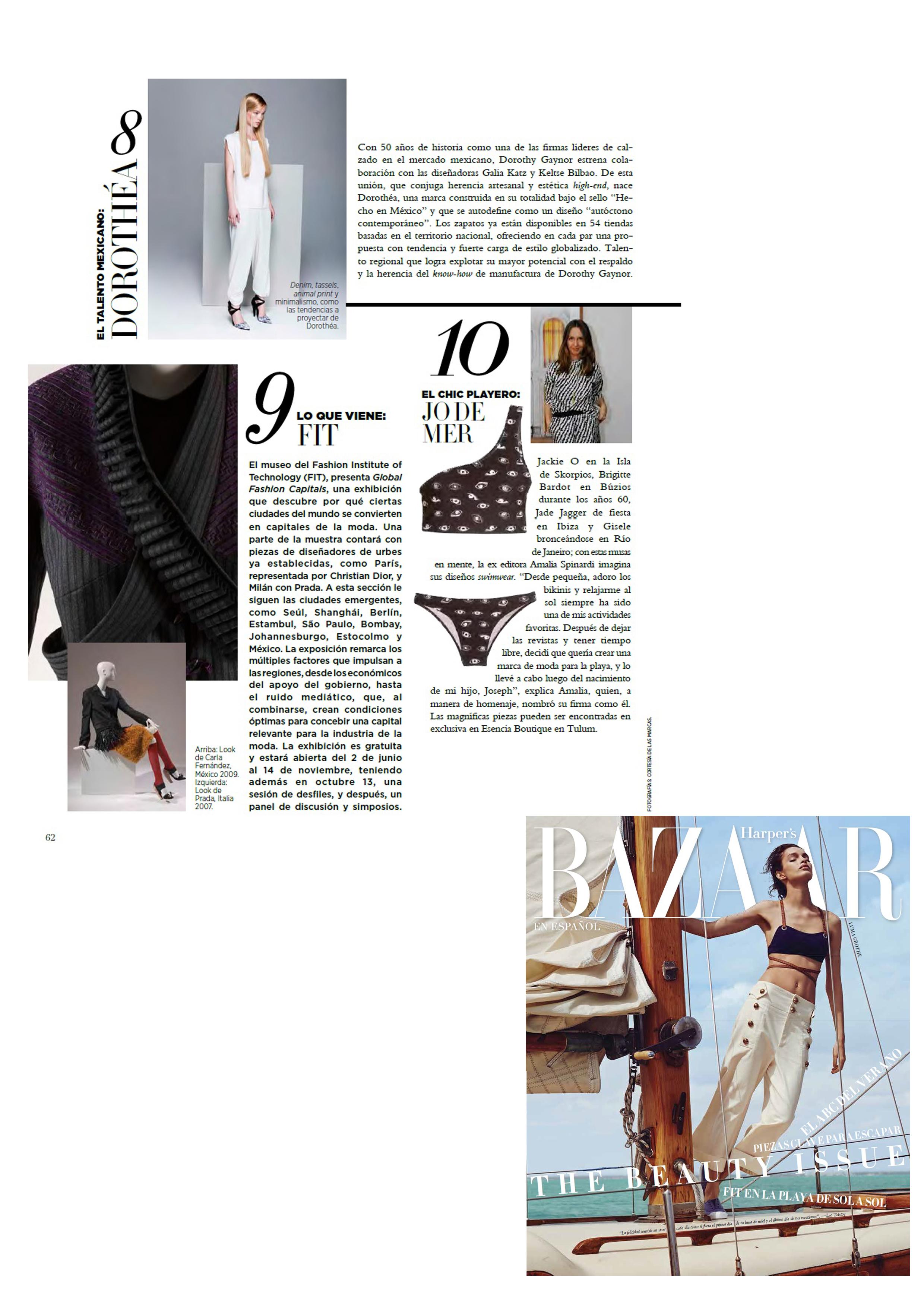 Revista Harpers Bazaar Mexico