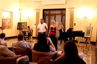 Adnan Ahmedic IMKA Artists Concert al Circolo Unificato dell Esercito di Padua