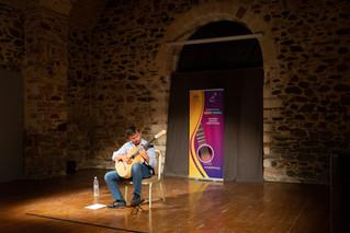 AdnanAhmedicClassicalGuitarist at Syros Guitar Festival Greece