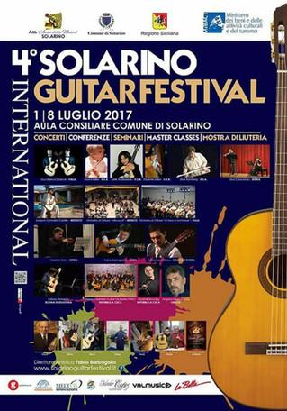 AdnanAhmedicClassicalGuitarist at Solarino Guitar Festival