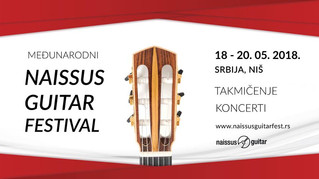 AdnanAhmedicClassicalGuitarist at Naissus Guitar Festival and Competition
