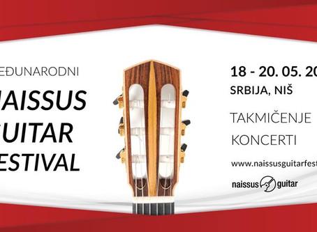 AdnanAhmedicClassicalGuitarist at Naissus Guitar Festival and Competition