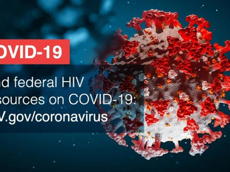 COVID-19 and living with HIV