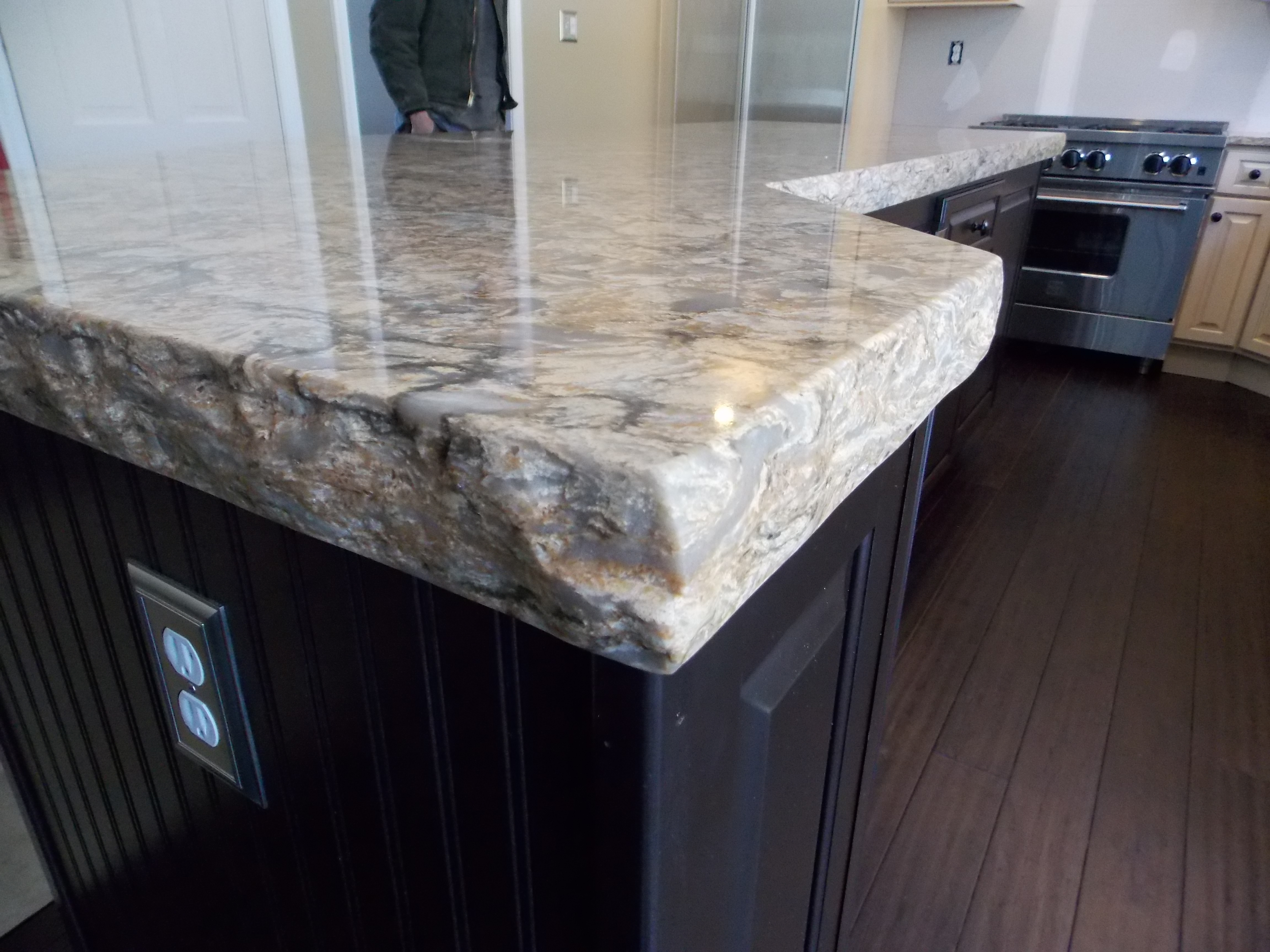 Cambrian Quartz Lincoln Buckingham 3 laminated chiseled edge
