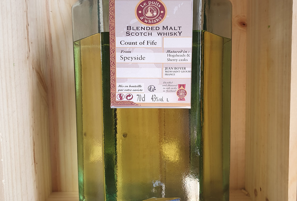 WHISKY COUNT OF FIFE SPEYSIDE 70CL