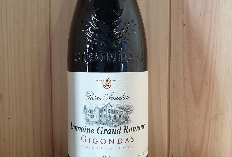 DOMAINE GRAND ROMANE GIGONDAS PIERRE AMADIEU