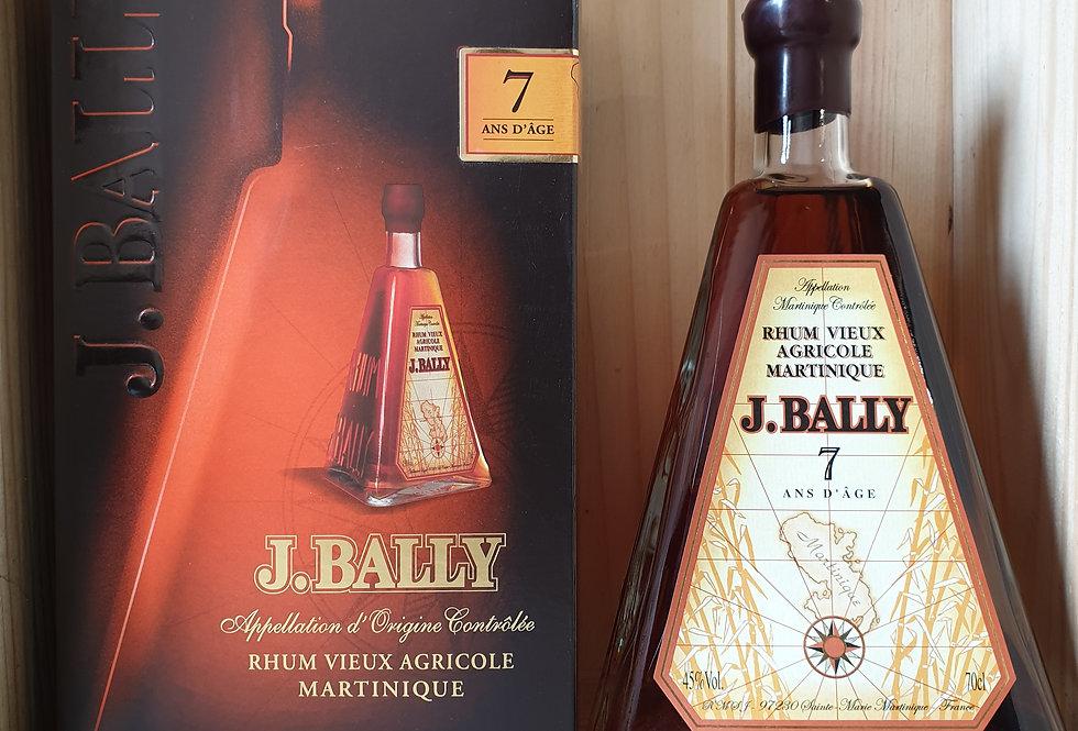 RHUM VIEUX J.BALLY 7 ANS