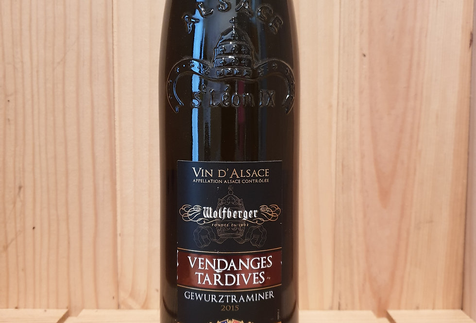 GEWURZTRAMINER VENDANGES TARDIVES WOLFBERGER