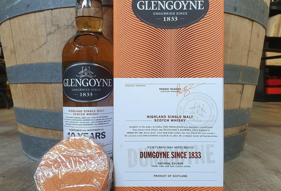 GLENGOYNE 10 ANS + 4 SOUS-BOCKS EN CUIR
