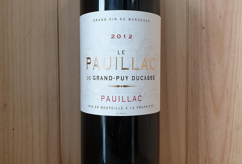 LE PAUILLAC DE GRAND-PUY DUCASSE