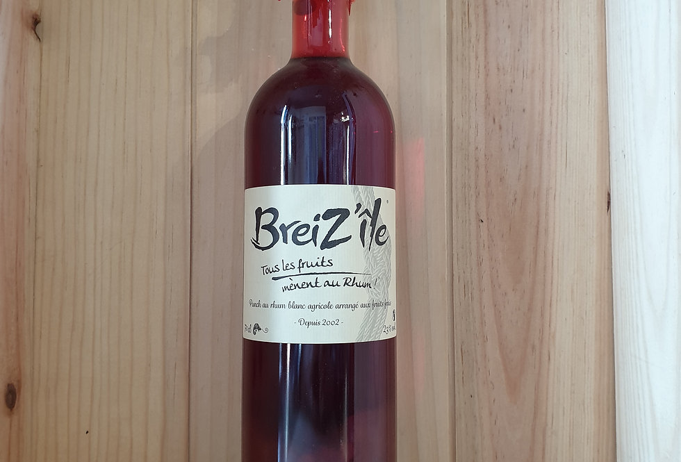 RHUM ARRANGÉ BREIZ'ÎLE FRUITS ROUGES 23°