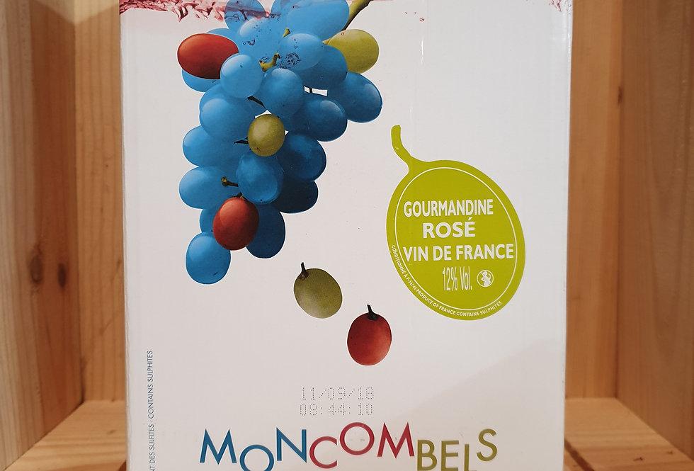MONCOMBELS GOURMANDINE ROSÉ 5L