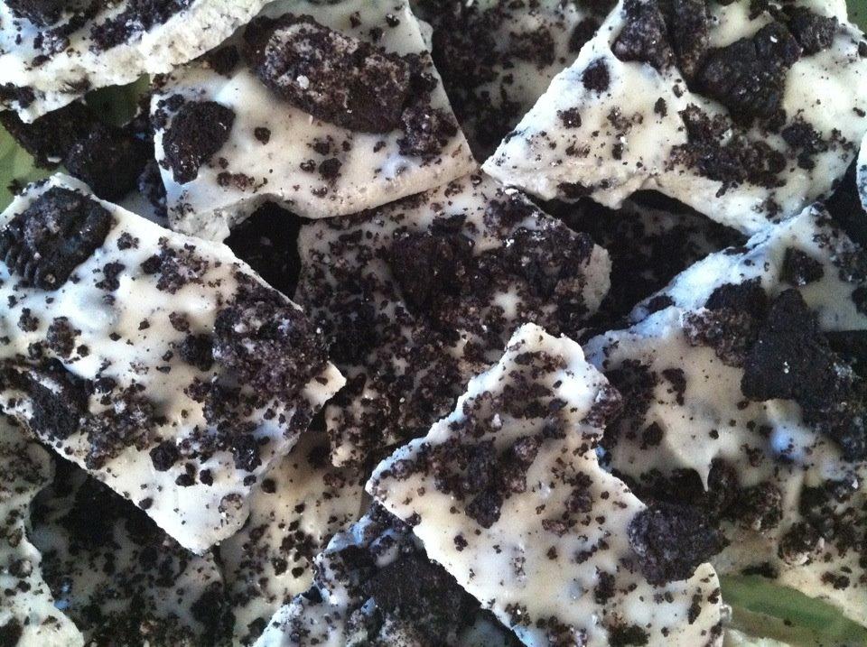 Oreo Cookies & Cream Bark Candy